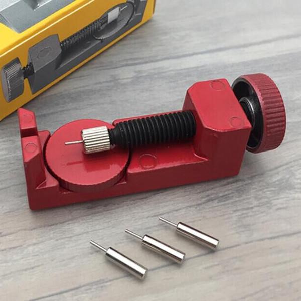 2018 Professional A Set Adjustable Metal Watch Band Strap Link Pin Remover Repair Maintenance Tool Dismantling Kit