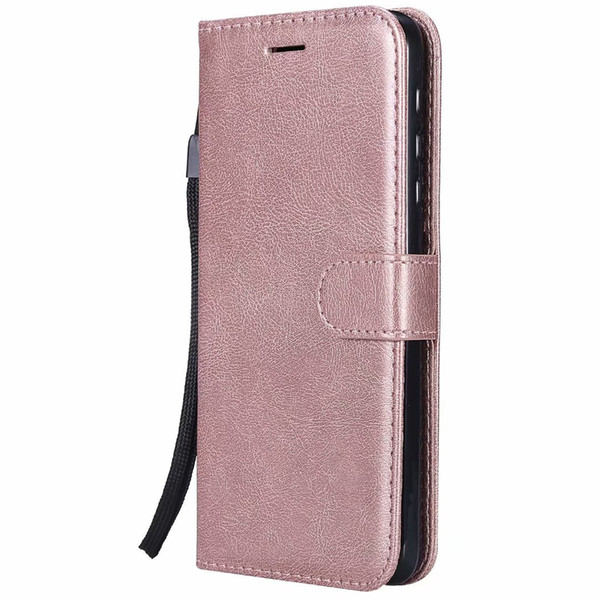 Wallet Case For Motorola Moto Z Force Flip back Cover Pure Color PU Leather Mobile Phone Bags Coque Fundas For Moto Z Force