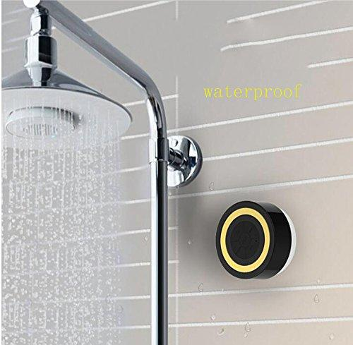 Small Sucker Speaker, Portable Mini Size Wireless Bluetooth 3.0 IPX4 Waterproof Speakers with HD Sound Can be Sucked on the Wall