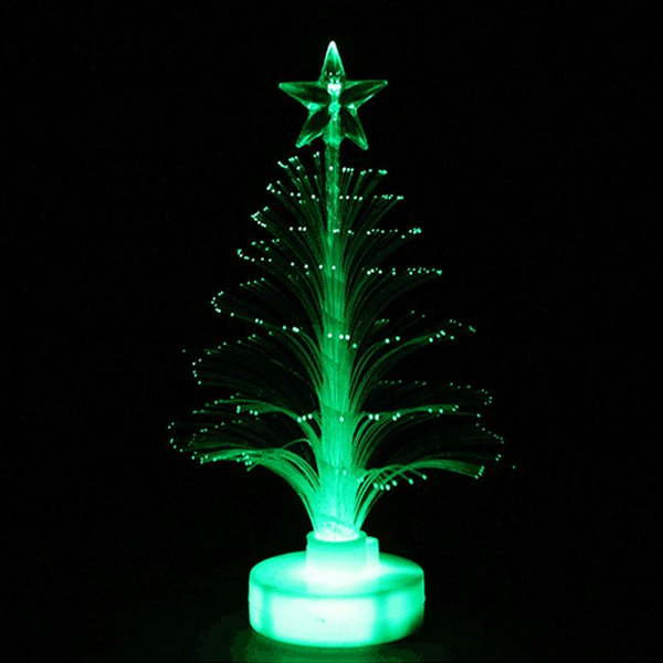 New year Christmas LED Color Changing Mini Christmas Tree Home Table Party Decor Charming tree decorations led lights