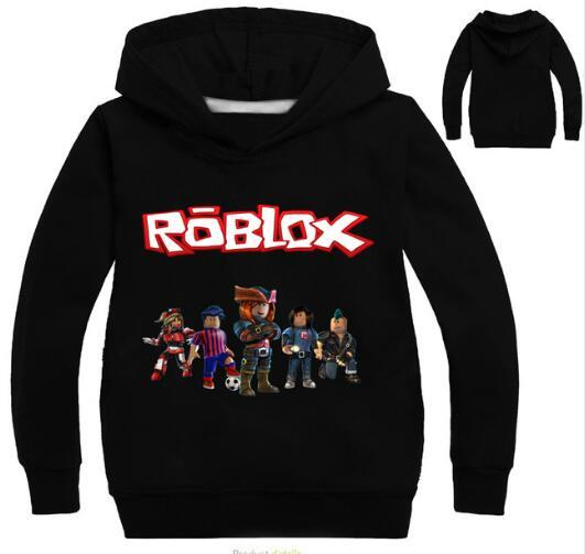 Roblox Sudaderas con capucha Camisa para niños Sudadera roja Noze Disfraz Día Niños Camisa deportiva Suéter para niños Camiseta de manga larga Tops