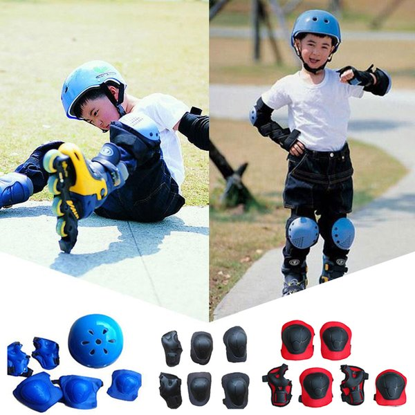 Kid Roller Skating Skateboard Children Sports Protection Sets Elbow Knee Pads Wrist Protective Guard Gear Pad Cycling Bicycle Pa
