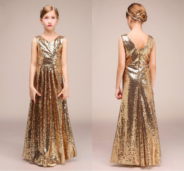 Junior Bridesmaid Dresses For Girls
