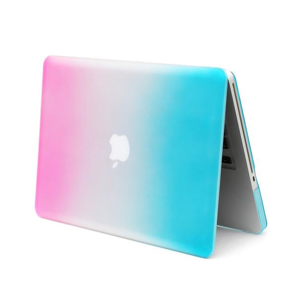 Rainbow pro 15 funda para macbook pro fundas de 15.4 pulgadas con funda rígida para laptop A1286 para macbook 15 funda