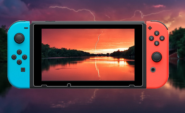 Para Nintendo Switch Vidrio templado HD Anti-Scratch Glass Screen Protector 50pcs / lot