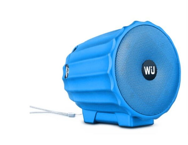 Mini Bluetooth Twins Stereo Speakers Design Portable (Bleu / Rouge // Or / Argent / Noir).