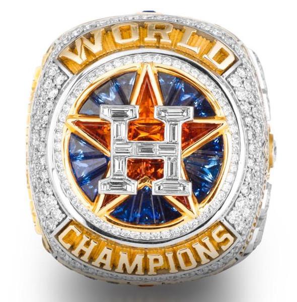 2018 Houston Astros Baseball Championship anel Fan Men Presente Atacado Drop Shipping