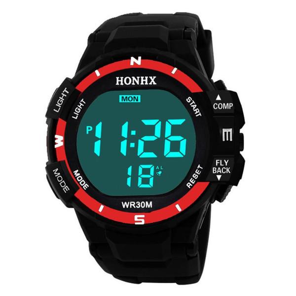 Sport Watch Men Outdoor Digital Watches LED Electronic Wristwatch  Alarm Male Clock Relogio Masculino Digital
