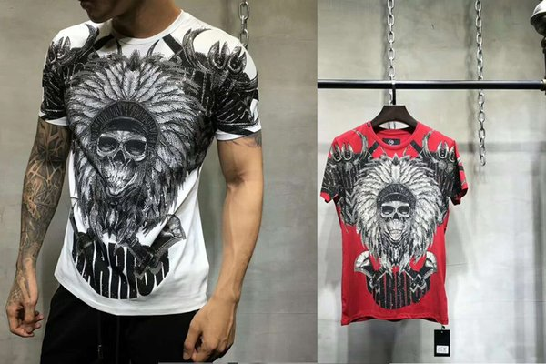 New fashion printed quick drying T-shirt men brand clothing casual summer short T shirt male fast dry Tshirt FWT702218