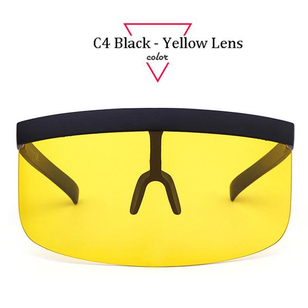 C4 schwarzes Rahmen-Gelb-Objektiv