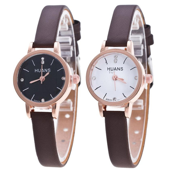 Female Models Fashion Thin Belt Rhinestone Belt Watch Popular Womens Watches Stylish simple casual Crystal montre femme watches