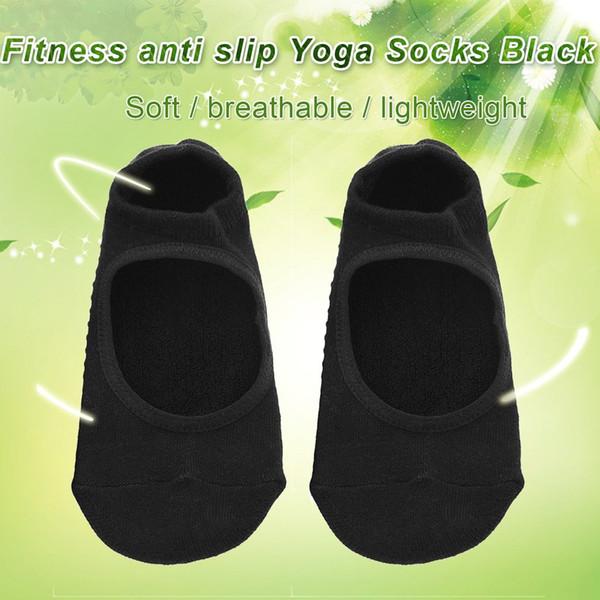 Calze da yoga Quick-Dry antiscivolo Damping Bandage Pilates Balletto Good Men donna Ballare palestra Cotton Sock Calze tacco
