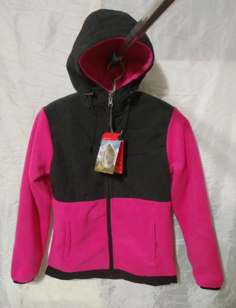 Женщины мужчины дети флис толстовки куртки кемпинг ветрозащитный лыжный теплый вниз пальто открытый повседневная с капюшоном SoftShell спортивная одежда верхняя одежда свитер Красный