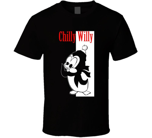 Maglietta di Chilly Willy Cartoon Gangster
