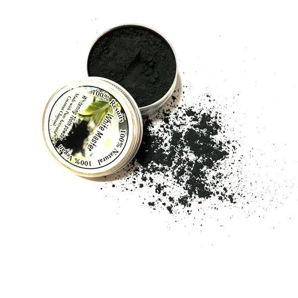 Dente orale di bambù attivato polvere di carbone decontaminazione dente giallo macchia fumo dente macchia cattivo respiro cura orale 10g