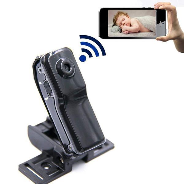 Caméra Wi-Fi intégrée P2P Mini DV de 8 Go de mémoire WiFi * Fonction WiFi: Oui, surveillance à distance par PC, Smartphone à tout moment, n'importe où Cam PQ218