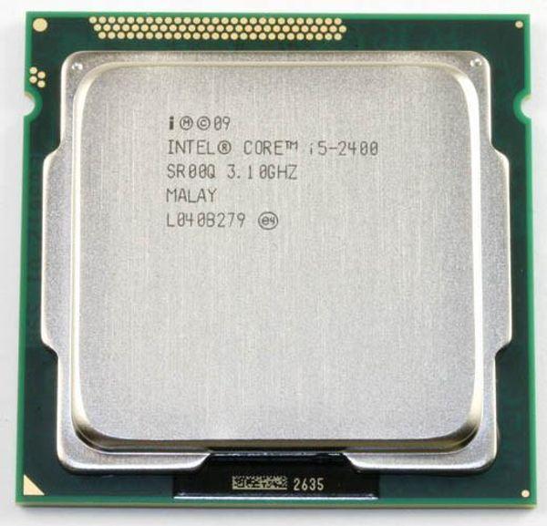 Original Intel i5 2400 Processor Quad-Core 3.1GHz LGA 1155 TDP:95W 6MB Cache i5-2400 Desktop CPU