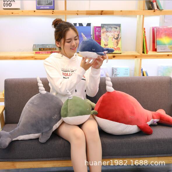 New Whale Doll Plush Toy Cute Doll Shark Dolphin Software Korean Toy Christmas Gift