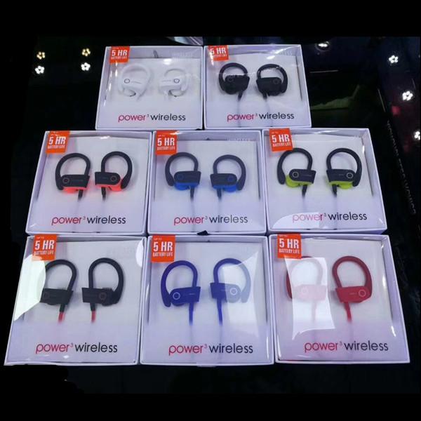 5HR Marke Headset Ohrhörer Sport Ohrhörer Ohrbügel Ohrhörer Bluetooth Kopfhörer Kopfhörer Stereo Bass Power Wireless Mit Mikrofon Universal