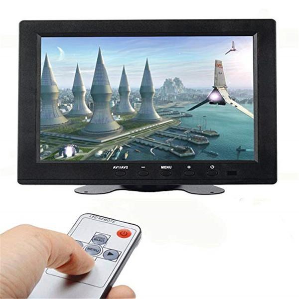8 pulgadas de alta resolución 800 * 480, compatible con 1024 * 768, monitor TFT LCD con entrada HDMI VGA, DVD VCR