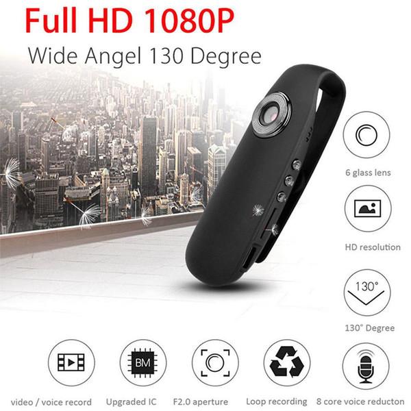 32GB Memory 1080P Full HD Security Cameras Mini Clip Body Cam for Home and Office, Mini Sport DVR and Car Dash Camera PQ335