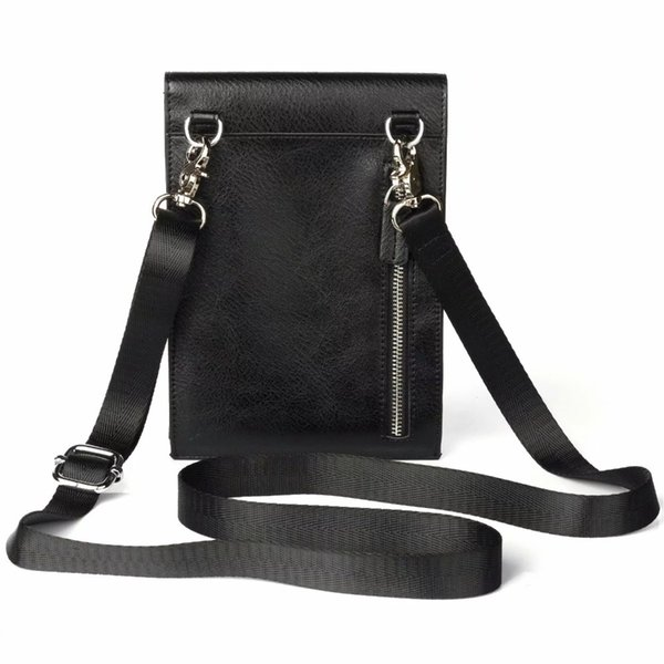2018 HOT New Universal Mobile Phone Bag Women Shoulder Bag for iphone 7 8 6 5s X PU Leather Pouch Cross body Small Bags 6.4 inch