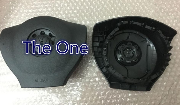 New air bag cover for vw passat b7 airbag cover srs steering wheel cover with logo retail wholesale