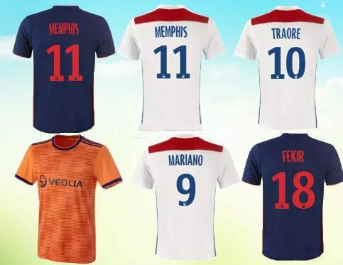 tenue de foot Olympique Lyonnais acheter