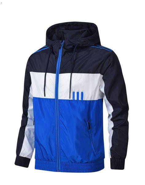 best selling The new fashion Jacket Coat Autumn Windrunner Jackets Brand Designer Sports Windbreaker Thin Casual Jacket Men Tops Clothing L--4XL