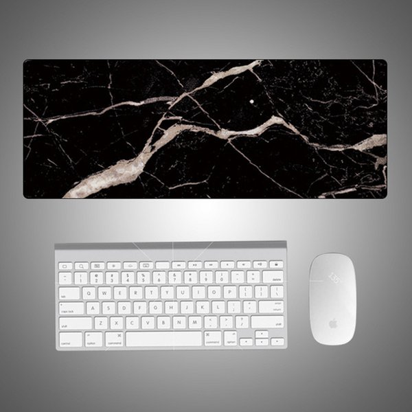 800x300mm XL marble mouse pad laptop notebook table gaming mouse pad speed version mats lock edge colourful mousepad gamer