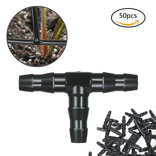 2019 H19237 Sets Tee Joint Hose Connectors Irrigation Barbed Water Pipe  Watering System Conjunto De Conectores De Manguera Tee From Noryzhou, $3 01  |