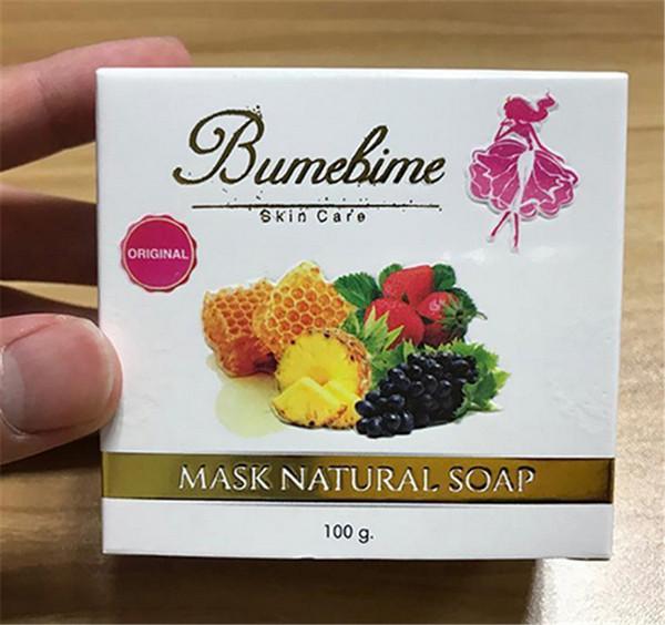 Bumebimemaske natual handgemachte Seife mit Frucht-wesentlicher natürlicher Maske DHL geben Verschiffen heißen Verkauf frei