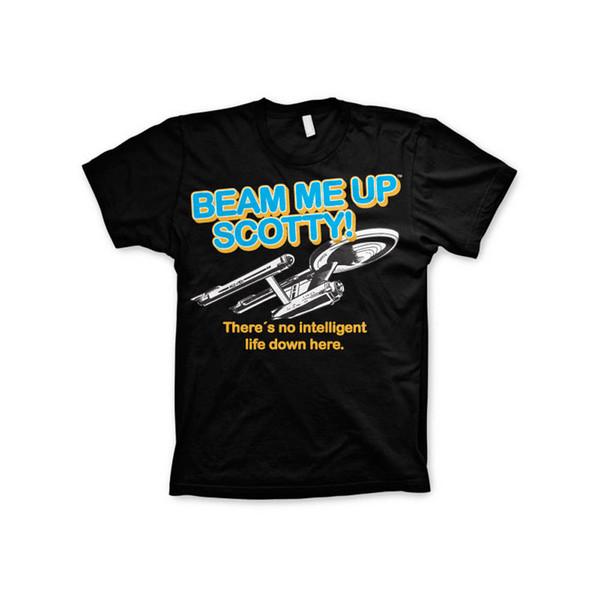 Oficialmente licenciado Star Trek-Beam Me Up Scotty T-shirt dos homens S-XXL Tamanhos
