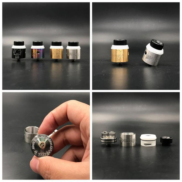 Redemption RDA Clone Replaceable Atomizers 24mm RDAS Rapture style posts Removeable negative post Serialized deck High Quality DHL free