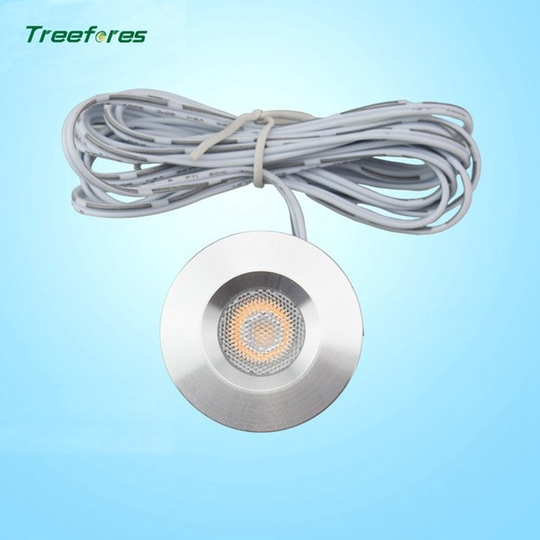 DC12V 1W Conceal Installation Mini LED Under Cabinet Closet Lights Motor Homes High Color Rendering Index Lamps CE Rose