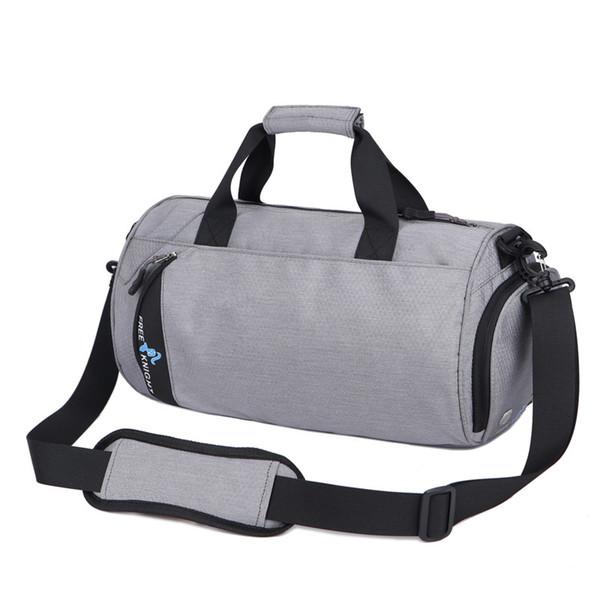 Waterproof Men Sports Gym Bags Fitness Bag Women Outdoor Hiking Travel  Handbag Training Duffle Shoulder Bag With Shoe Stroage 30 21d46356141de