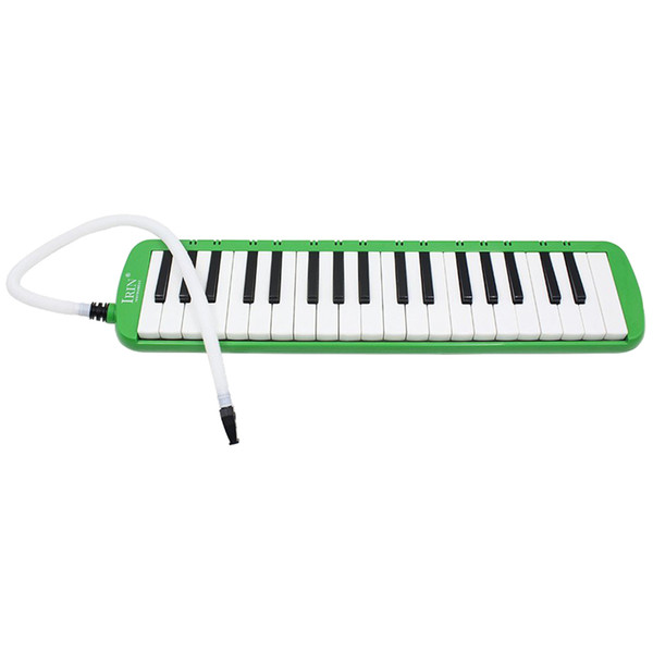 top popular 37 Melodica Keys Melodic Musical Instrument with Carrying Bag for Students Beginners Kids Green 2021