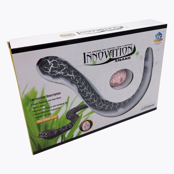 New Funny Gadgets Toys Novelty Surprise Practical Jokes RC Machine Remote Control Snake And Interesting Egg Radio Control Toys K0120