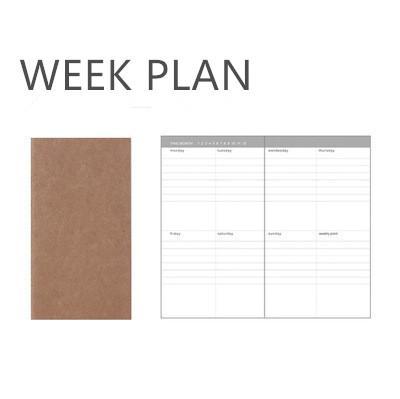Piano settimanale 95x165mm