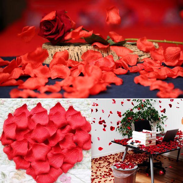 55 Colors Silk Rose Petals Leaves Artificial Flowers Petals Wedding Decoration Party Decor Festival Table Decor 276