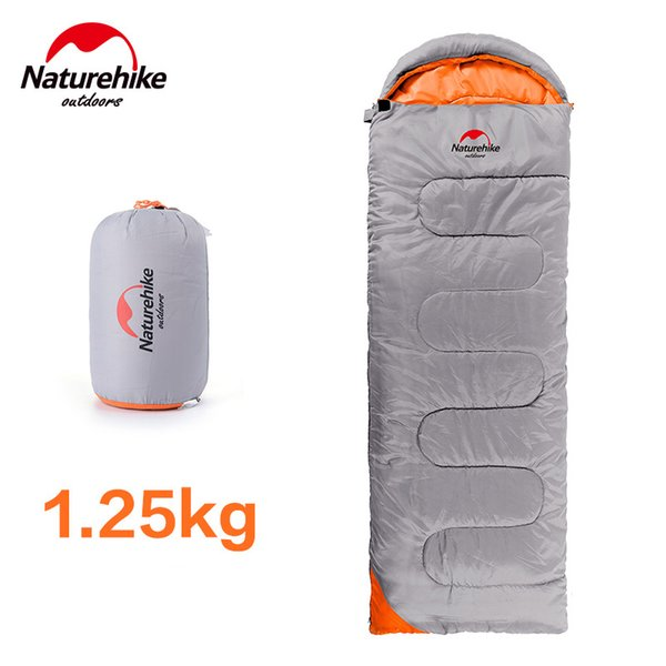 NH Ultralight Camping Sleeping Bag Adult Tents Cotton Filler Envelope Outdoor Warm Spring Autumn Hiking Bags 2.2*0.75M