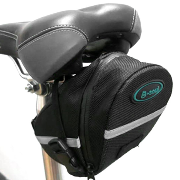 B-SOUL Bike Saddle Bag Bicycle Under Seat Storage Tail Pouch Cycling Bags Pouch