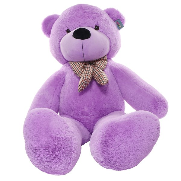 Purple Giant Teddy Bear 63