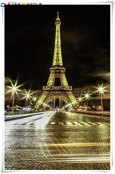 5D Алмаз вышивка пейзаж башня diy Алмаз живопись вышивки крестом комплект смолы полный roundsquare алмазная мозаика home decor подарок cc038