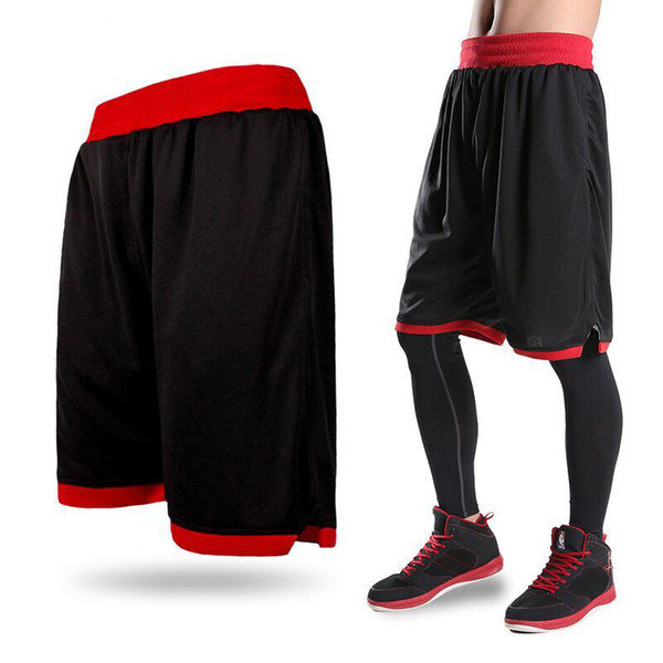 best selling New 2018 Men's Basketball Shorts Boy Sport Running Short Trousers Training Fitness Elastic Summer Beach Gym Breathable Plus Size