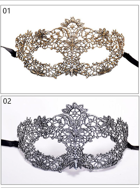 Silver fox Sexy Lace Party Masks Fshiopn Women Ladies Girls Halloween Xmas Cosplay Costume Masquerade Dancing Valentine Half Face Mask