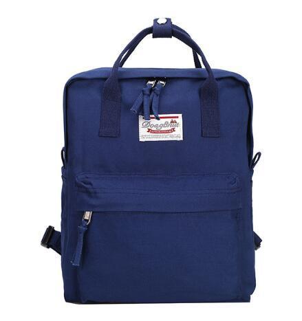 2018 High quality Women Backpack Teenage girls Leisure bag Vintage Stylish School Bag Canvas Backpack Female Bookbag Mochila