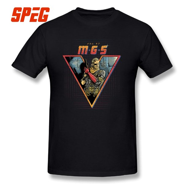 Metal Gear Mgs Tee Shirt Mens Breathable Large Size O Neck T Shirts Pure Cotton Short Sleeves T Shirts
