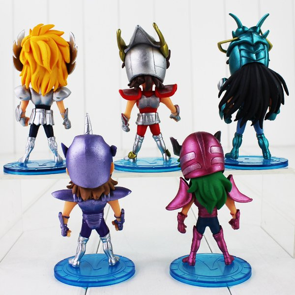 2018 /Set 10cm Saint Seiya Figure Toy Myth Cloth Shiryu Shun Hyoga Jabu  Seiya Anime Model Doll For Children From Runbaby, $26 25 | Dhgate Com
