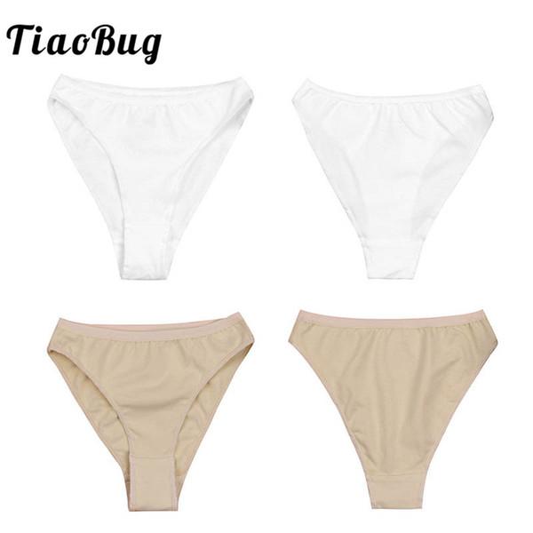 TiaoBug Kids High Cut Ballet Dance Underwear Briefs Underpants Girls Ballet Dance Gymnastics Bottoms Ballerina Panties